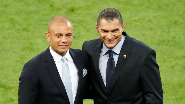 """Уэс Браун (слева) уже был на стадионе """"Спартака"""" этим летом - во время чемпионата мира по футболу. Фото REUTERS"""