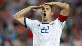 7 сентября. Трабзон. Турция - Россия - 1:2. 49-я минута. Только что Артем Дзюба забил победный гол.