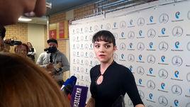 """Евгения Медведева: """"Впечатления отличные. Я дома!""""."""