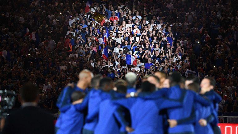 """Вечером 9 сентября на """"Стад де Франс"""" было весело. Фото AFP"""