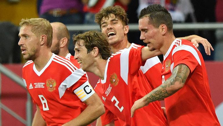 Россия разгромила Чехию в товарищеском матче (Видео)