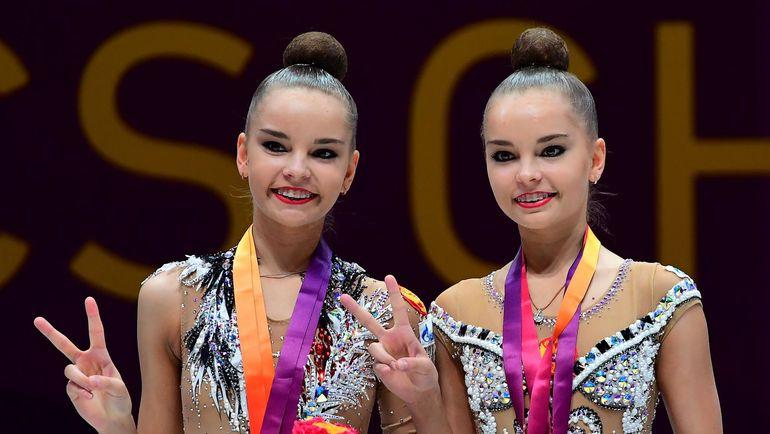 Дина и Арина Аверины. Фото AFP
