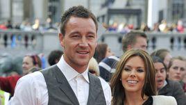 Джон Терри и его жена Тони.