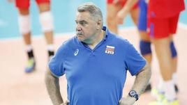 Главный тренер сборной России Сергей Шляпников.