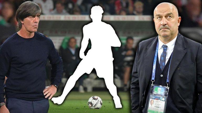 Вот так Bild проиллюстрировал материал о Вальдемаре Антоне: РФС и Станислав Черчесов могут увести игрока у сборной Германии Йоахима Лева.