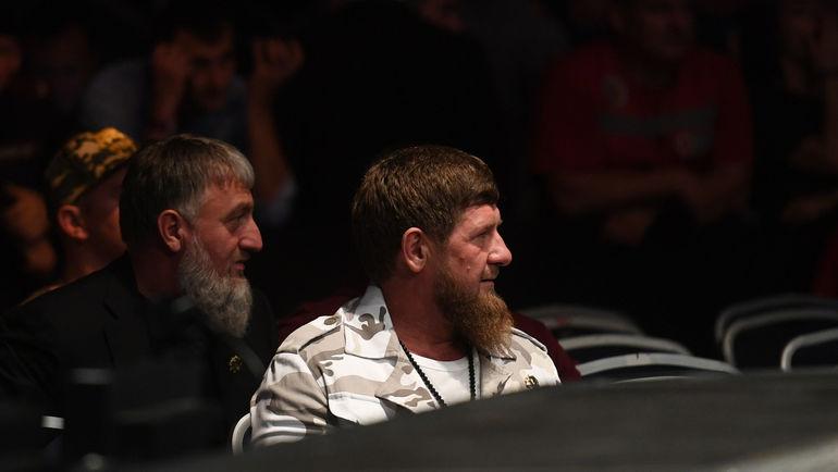 """Рамзан Кадыров внимательно наблюдал за боями. Фото Дарья Исаева, """"СЭ"""""""