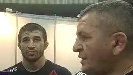 Ученик отца Хабиба победил на турнире UFC в Москве