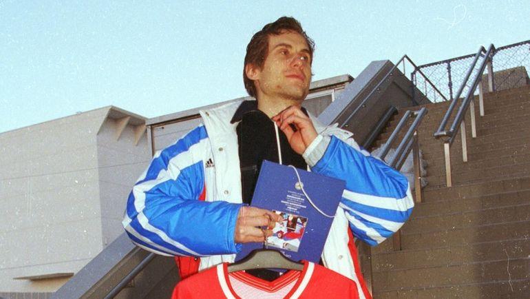 Серебряный призер Олимпиады в Нагано-98 Валерий Зелепукин. Фото Андрей Голованов и Сергей Киврин