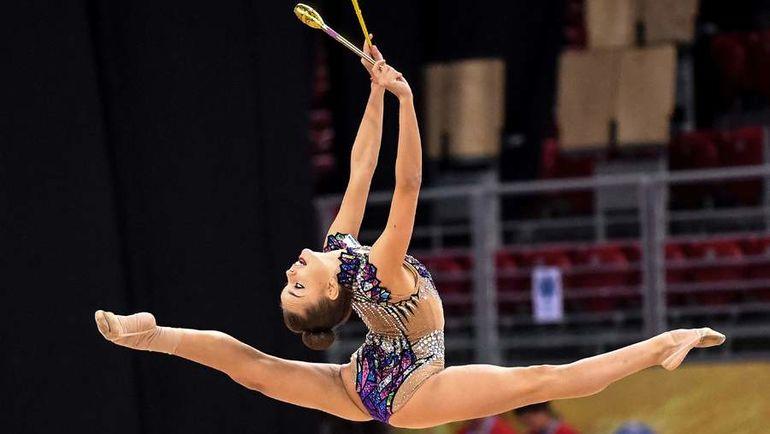 На ЧМ в Софии Дина Аверина завоевала пять золотых медалей. Фото AFP
