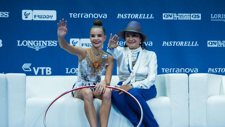 Дина Аверина и Ирина Винер-Усманова. Фото Елена Соболь.