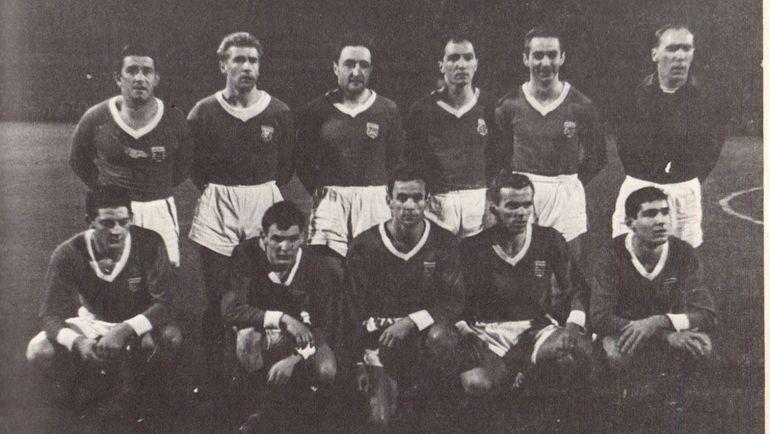 Сборная Люксембурга, обыгравшая Голландию и едва не шагнувшая на Евро-1964. Фото Soccer nostalgia
