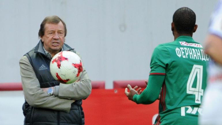 Мануэл Фернандеш (справа) и Юрий Семин. Фото Алексей Иванов