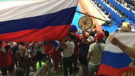 Как болеют за российских гимнасток