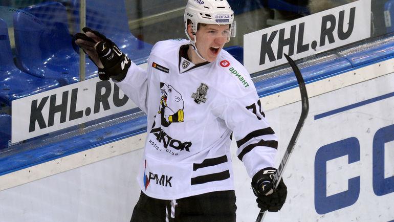 Виталий Кравцов. Фото КХЛ