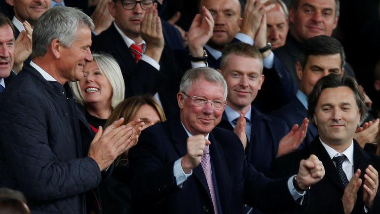 "22 сентября. Манчестер. ""Манчестер Юнайтед"" - ""Вулверхэмптон"" - 1:1. Алекс Фергюсон. Фото REUTERS"