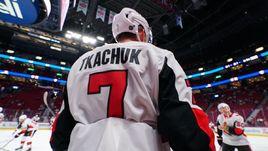 Еще один сын знаменитого американца бьется за место в НХЛ