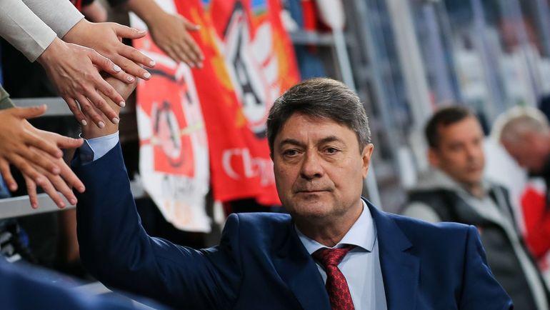 """Андрей Мартемьянов. Фото ХК """"Автомобилист"""""""