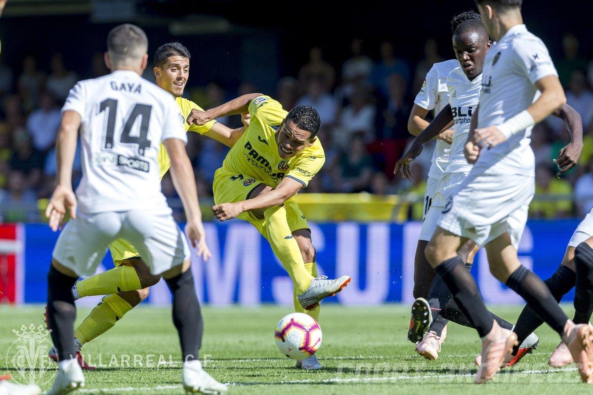 Как сыграют Вильярреал и Валенсия На что делать ставки на чемпионат Испании 23 Сентября 2018