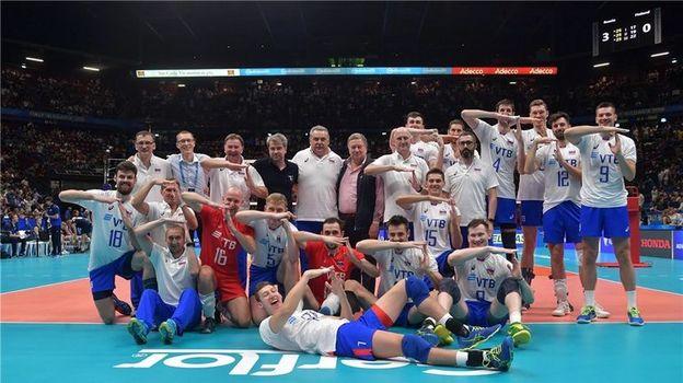 Чемпионат мира по волейболу, мужчины. Россия – Финляндия – 3:0, 23 сентября 2018, обзор матча. Россия – в