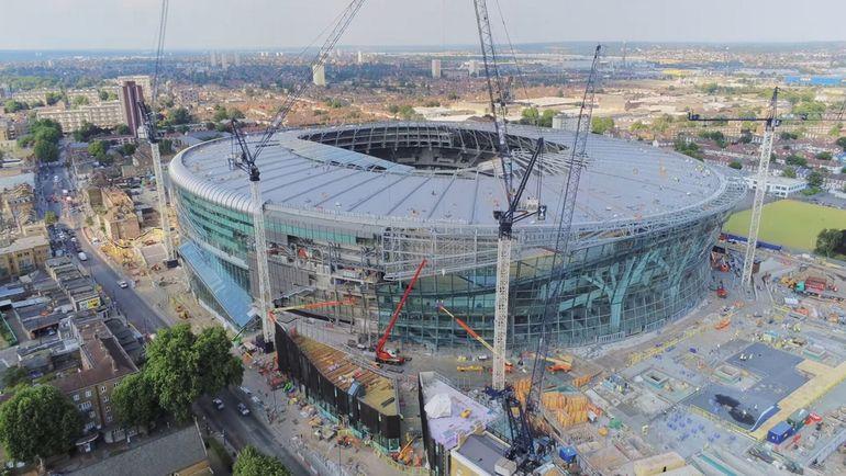 """Новый стадион """"Тоттенхэма""""."""