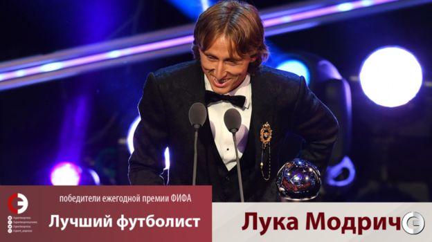 Лука Модрич. Фото