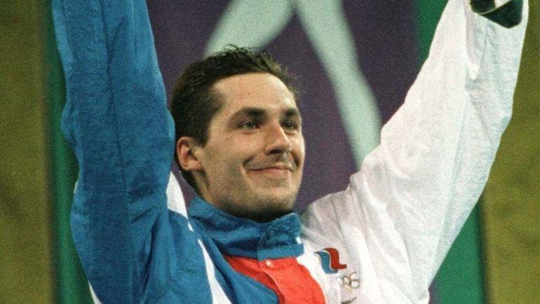 21 июля 1996 года. Станислав Поздняков с золотой медалью личного первенства Олимпиады в Атланте.