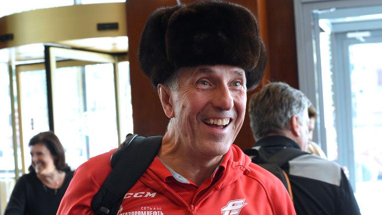Боб Хартли. Фото Владимир Беззубов, photo.khl.ru