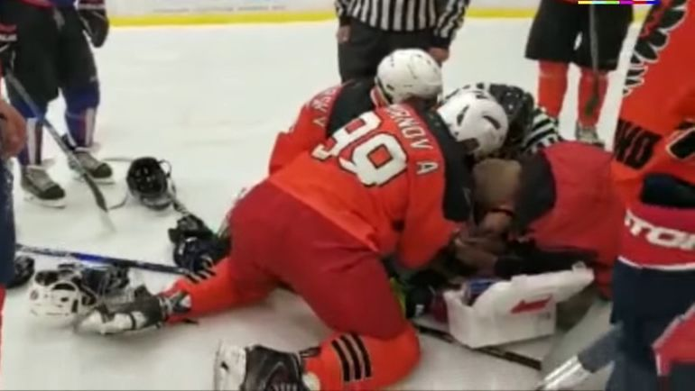 43-летний Максим Газуко скончался во время матча.