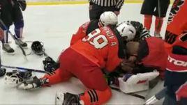 Трагедия в Москве. Хоккеист умер во время матча