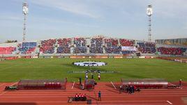 """Стадион """"Центральный"""" в Красноярске."""
