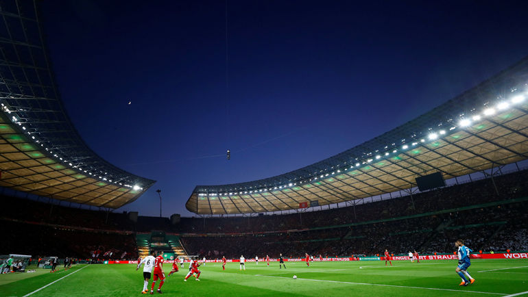 """Олимпиаштадион"", Берлин."