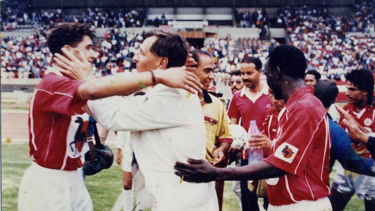 1994 год. Юрий Севастьяненко в чемпионате Марокко. Фото из личного архива Юрия Севастьяненко
