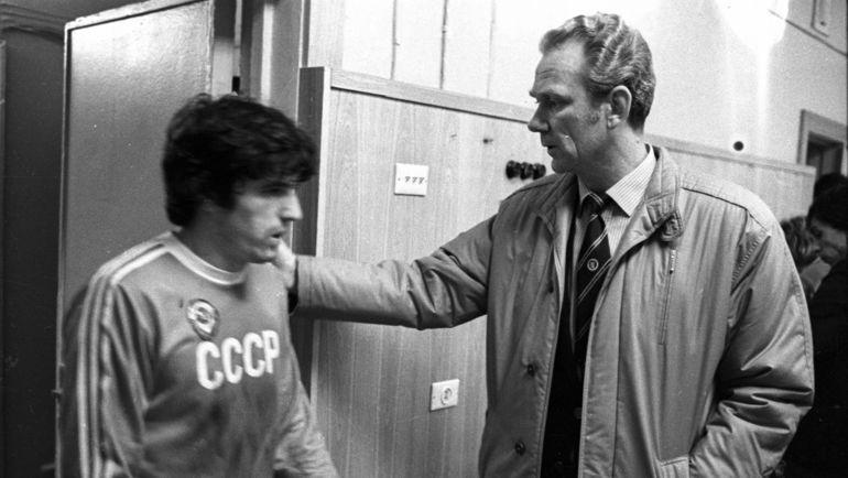 Валерий Лобановский (справа). Фото Игорь Уткин