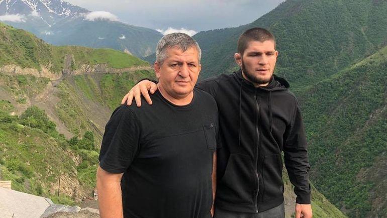 Абдулманап и Хабиб Нурмагомедовы. Фото instagram.com
