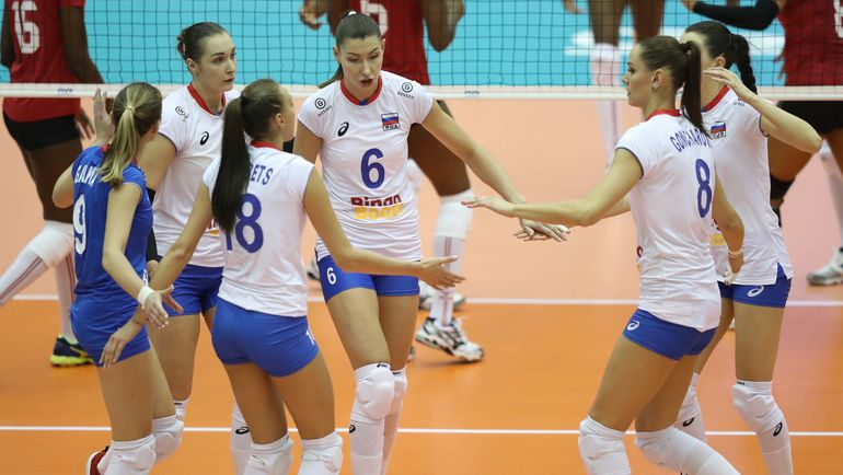 Россиянки стартовали на ЧМ с уверенной победы. Фото fivb.org