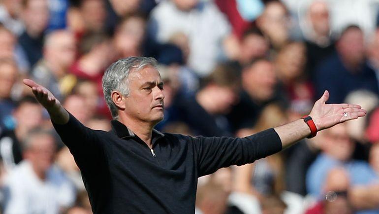 """29 сентября. Лондон. """"Вест Хэм"""" – """"Манчестер Юнайтед"""" – 3:1. Жозе Моуринью. Фото AFP"""