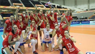 Россия – Таиланд – 3:2. Чемпионат мира по волейболу, женщины, обзор матча
