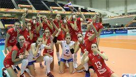 30 сентября. Кобэ. Таиланд – Россия - 2:3. Россиянки одержали волевую победу на ЧМ.