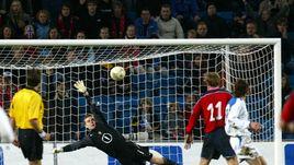 29 апреля 2004 года. Осло. Норвегия - Россия - 3:2. Дебют Игоря Акинфеева в сборной России.