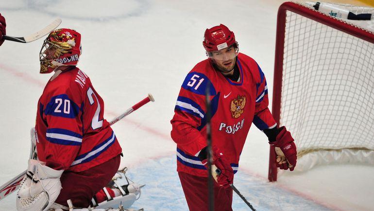 2010 год. Евгений Набоков (слева) и Федор Тютин. Фото REUTERS