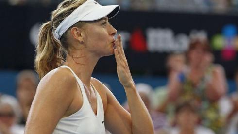 Шарапова вышла в полуфинал турнира в Брисбене