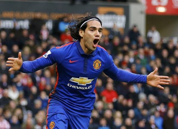 "Нападающий ""Манчестер Юнайтед"" Радамель ФАЛЬКАО. Фото Reuters"