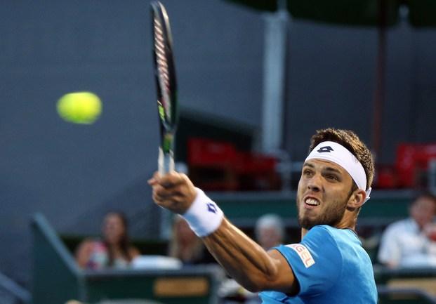 Чешский теннисист Иржи ВЕСЕЛЫ Фото AFP