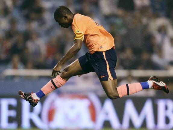 Камерунский нападающий Самюэль ЭТО'О Фото Reuters