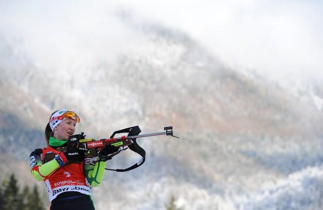 Трехкратная олимпийская чемпионка Дарья ДОМРАЧЕВА Фото AFP