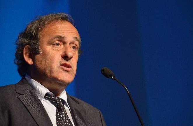 Президент УЕФА Мишель ПЛАТИНИ. Фото AFP