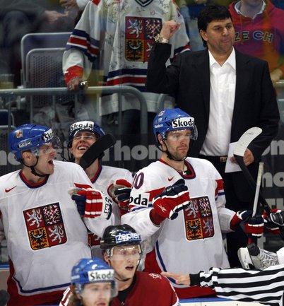 Главный тренер сборной Чехии Владимир РУЖИЧКА. Фото Reuters