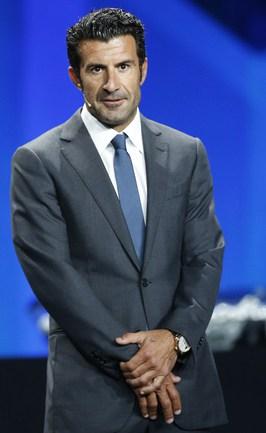 Бывший капитан сборной Португалии Луиш ФИГУ. Фото AFP