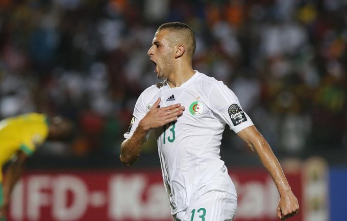 Нападающий сборной Алжира Ислам СЛИМАНИ. Фото Reuters