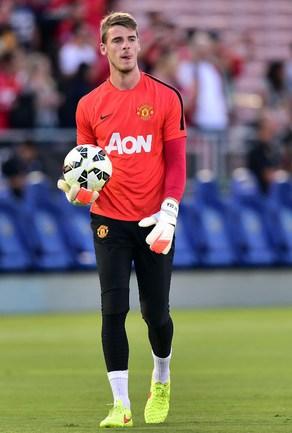 "Вратарь ""Манчестер Юнайтед"" Давид ДЕ ХЕА. Фото AFP"